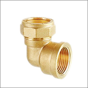 Brass-Female-Elbow-Connector-Assembly