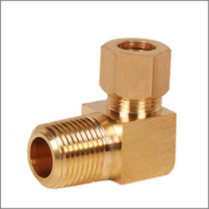Brass-Male-Elbow-Connector-Assembly